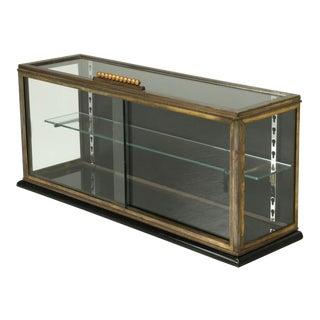 French Display Case or Curio Cabinet From the Art Deco Period For Sale