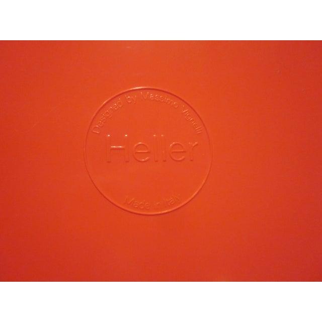 Heller Vignelli Stacking Orange Plate Bowl 30 Pcs - Image 7 of 11