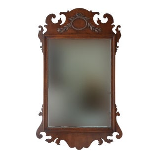 Kindel Mahogany Chippendale Mirror