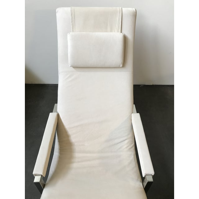 Ralph Lauren Home Loft Leather Chaise - Image 5 of 8