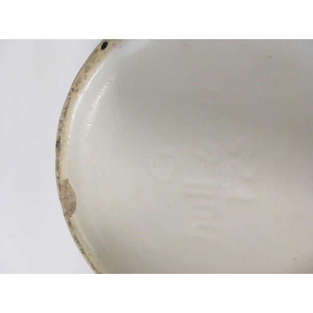 Mid Century Ivory Hull Planter For Sale - Image 4 of 5