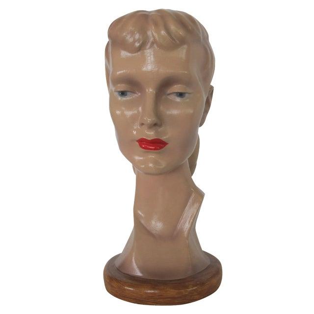 Vintage Female Mannequin Head - Image 1 of 7