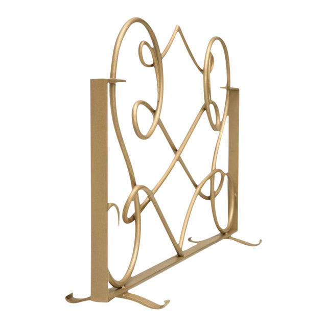 Fire Screen in the Style of Rene Drouet For Sale