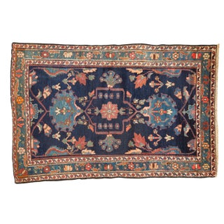 "Vintage Baktiari Rug - 4'1"" X 5'11"" For Sale"