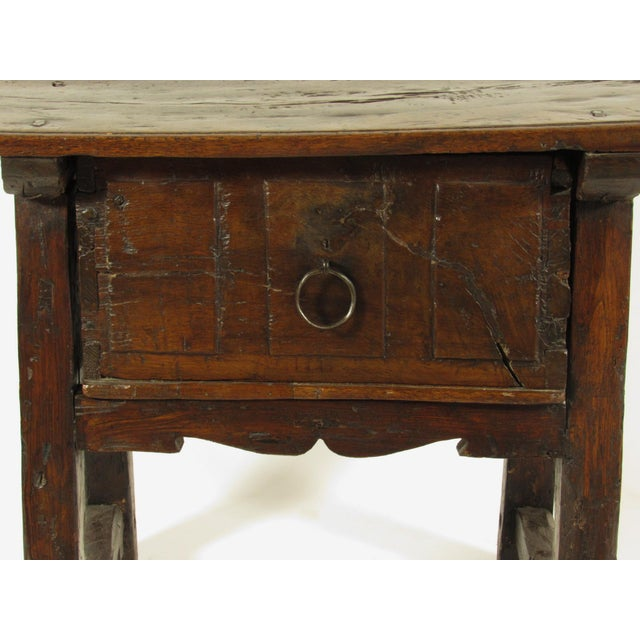 17th C. Spanish Side Table For Sale In Boston - Image 6 of 7