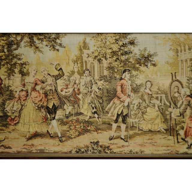Early Framed Tapestry Wall Art - Image 7 of 11