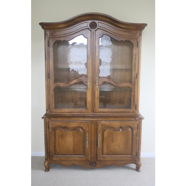 Ethan Allen Country French China Cabinet and Buffet - Image 2 of 8