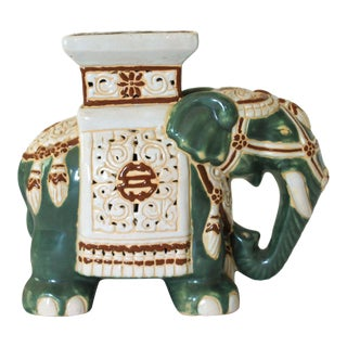 Elephant Garden Stool For Sale