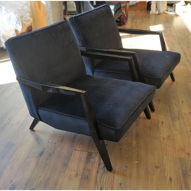 Ponti Era Fireside Low Slipper Chairs - A Pair For Sale - Image 11 of 11