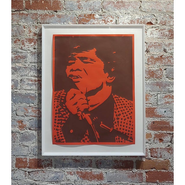 Bob Stanley - James Brown -Original 1960s Lithograph For Sale - Image 10 of 10
