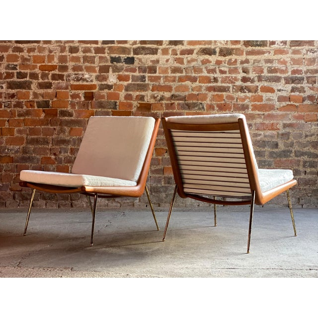 Hvidt & Mølgaard Boomerang Chairs France & Son Peter Hvidt & Orla Mølgaard Nielsen, 1950s - A Pair For Sale - Image 4 of 13