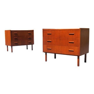 Mid Century Modern Bachelor's Chest by Møbelfabrikken of Norway-A Pair For Sale