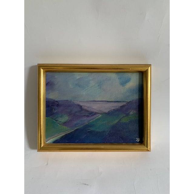 Vintage European Landscape Painting For Sale In Los Angeles - Image 6 of 6