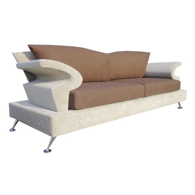 Sculptural Memphis Style Sofa by B&B Italia - Image 2 of 7