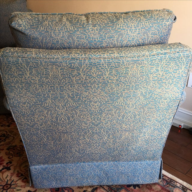 Baker Swivel Club Chairs - A Pair - Image 3 of 6