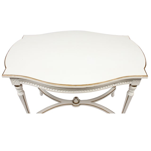 Antique Swedish Louis XV Gustavian Table - Image 3 of 4