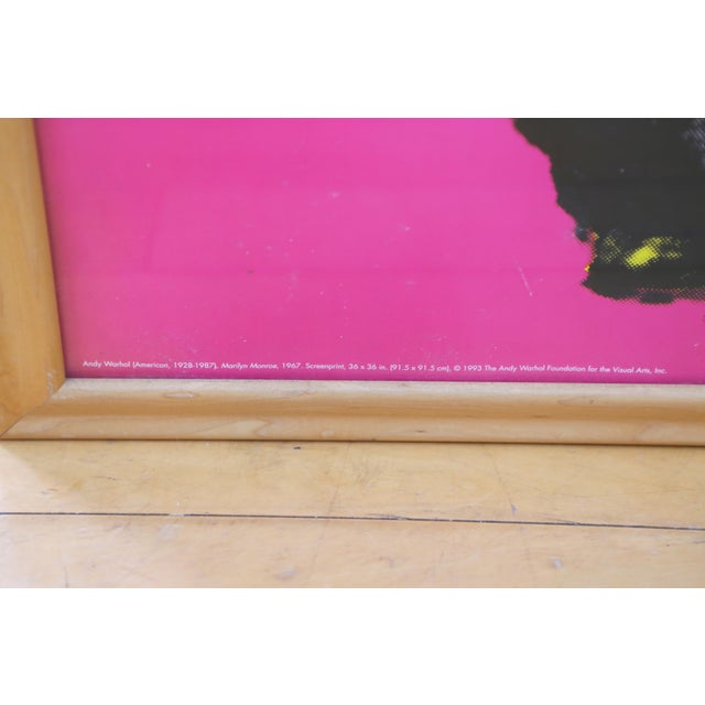 1990s Andy Warhol Marilyn Monroe Print For Sale - Image 5 of 6