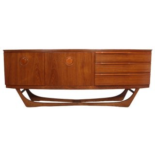 Mid Century Teak Credenza by Beautility