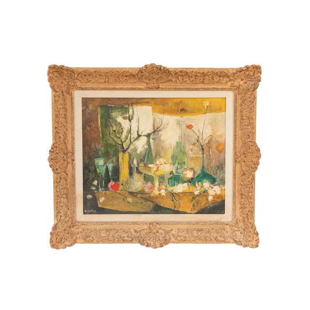 20th Century Oil Painting by French Artist Dolbeau For Sale