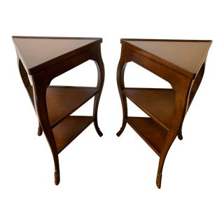 Nancy Corzine Drake Side Tables - a Pair For Sale