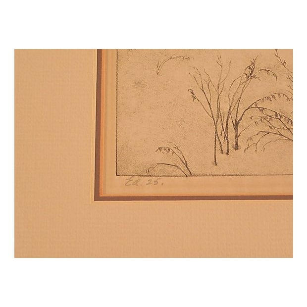 Gentle December Lithograph by Ella Fillmore For Sale - Image 4 of 4