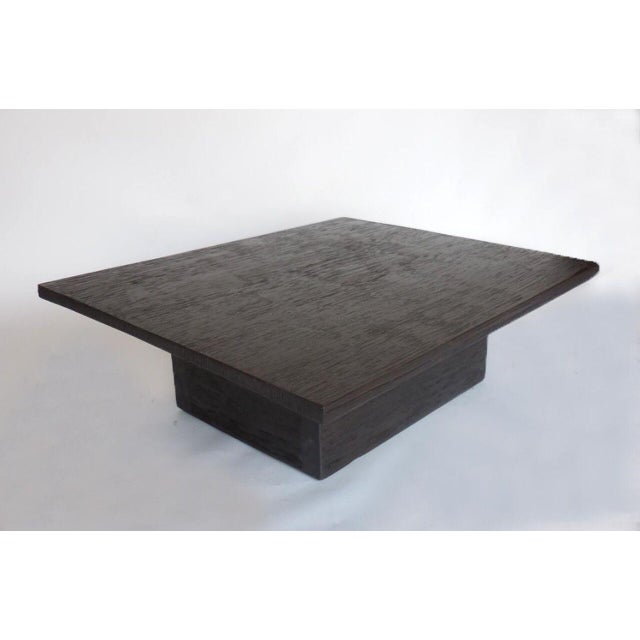 Distinguished Custom Reclaimed Wood Cube Coffee Table In