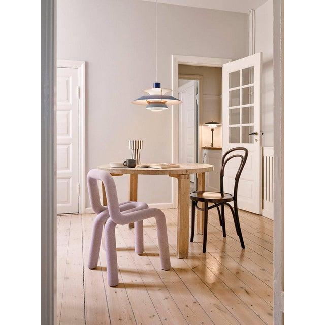Poul Henningsen Ph 5 Pendant for Louis Poulsen in Rose For Sale - Image 12 of 13