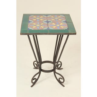 1930s Art Deco Tile Top Occasional Table Preview