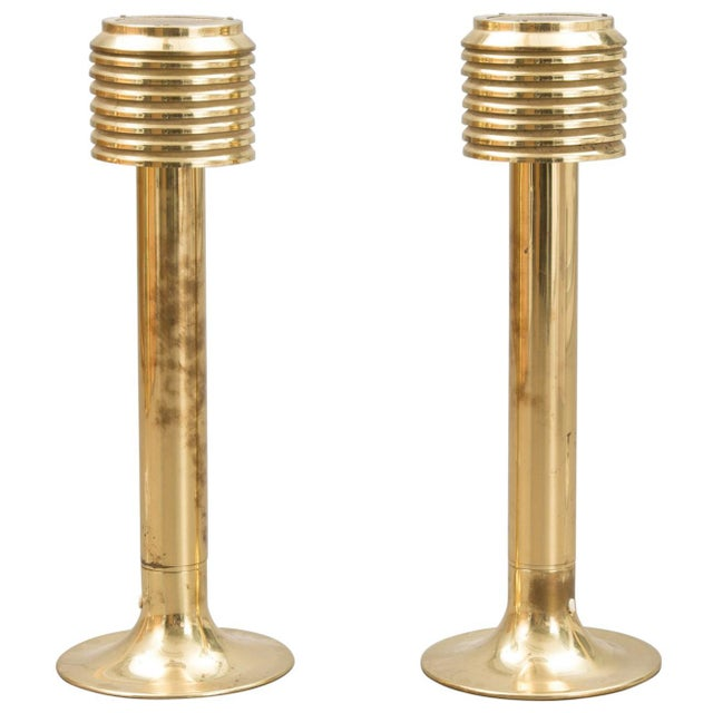 1960s Pair of Tall Table Lamps by Hans Agne Jakobsson For Sale - Image 5 of 5