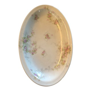 1910s Theodore Havilland Limoges Platter- Small For Sale
