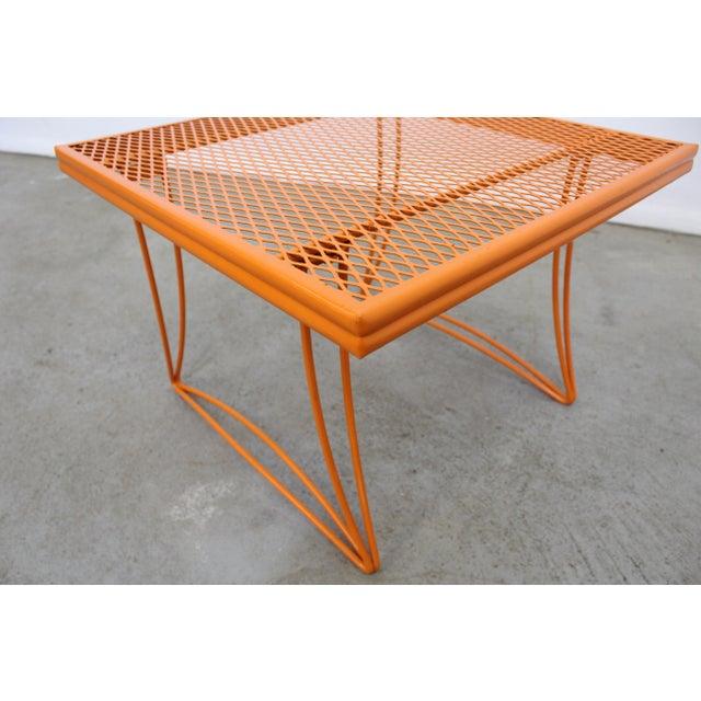 Metal Mid-Century Modern Homecrest Bottemiller Metal End Table 1521 For Sale - Image 7 of 8