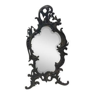 "Antique Rococo Table Mirror 22"" For Sale"