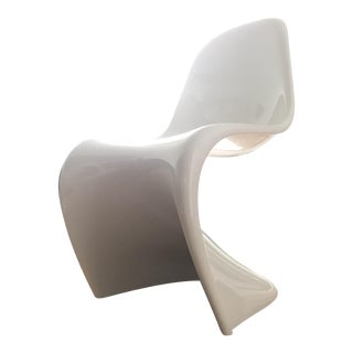 Verner Panton Danish Modern Side Chair For Sale