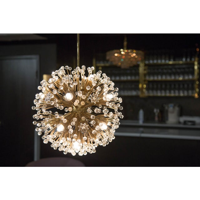 """Snowflake"" Crystal Chandelier by Emil Stejnar For Sale - Image 10 of 11"