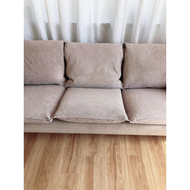 N. Eilersen Danish Modern Down Sofa For Sale - Image 11 of 13