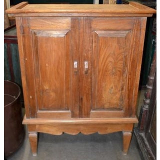 Indonesian Teak Cabinet Preview