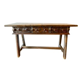 Late 18th Century Spanish Colonial Writing Table or Desk For Sale