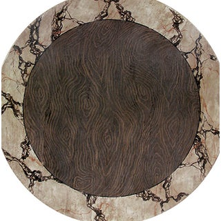 20th Century Italian Wood and Marble Dining Table Preview