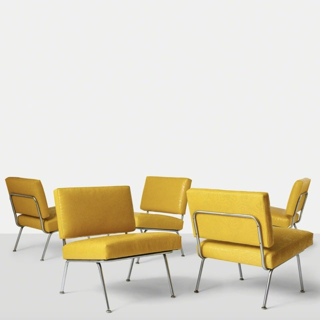 Set of Five Florence Knoll Chairs Model #31 for Knoll International, Ca. 1954 For Sale - Image 10 of 10