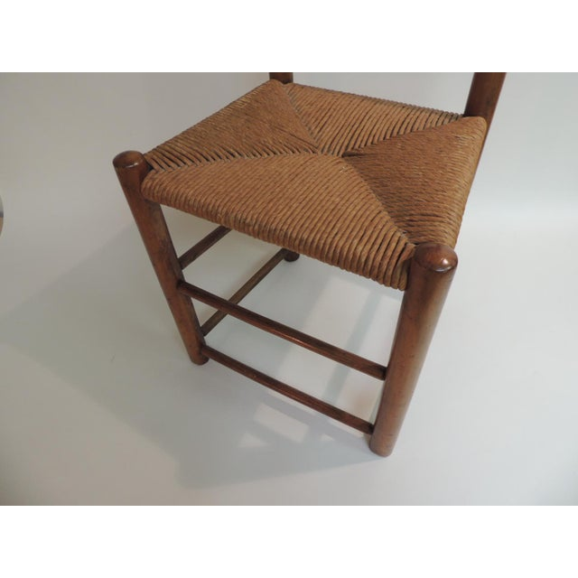 Antique Shaker Country Child's Chair with Rush Seat Antique shaker country child's chair with rush seat, very sturdy, no...