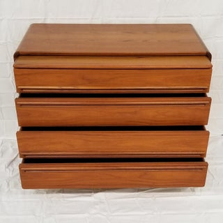 Danish Modern Teak Gentlemans Chest of Drawers by Westnofa Preview
