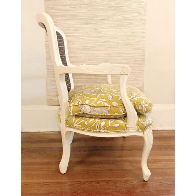 A more modern take on classic French country style. Of the moment yellow with animals and botanical designs outlined in...