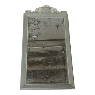 Early 19th Century Antique French Painted Mirror For Sale