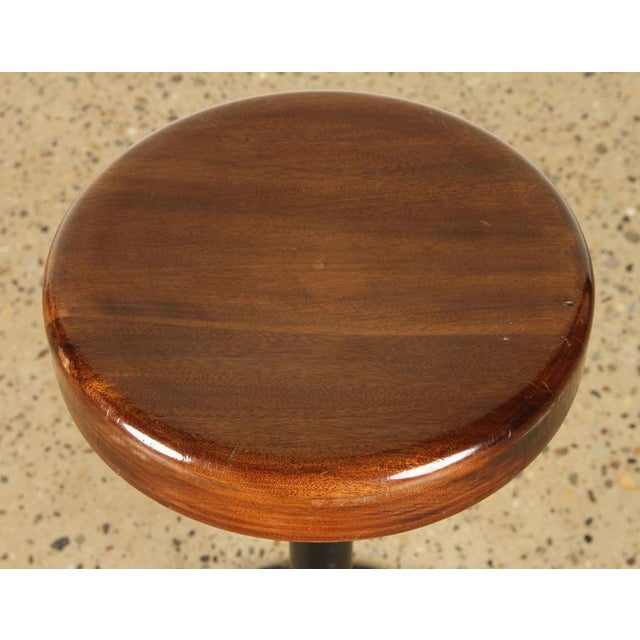 Lacquered Wood Bar Stools For Sale - Image 4 of 7