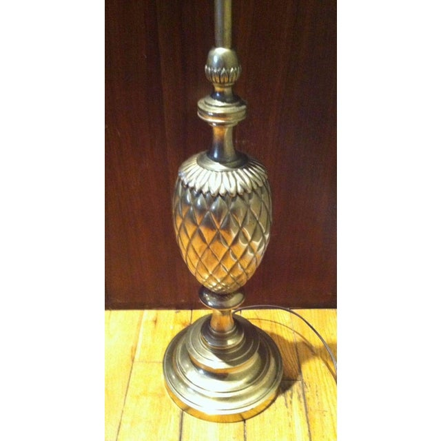 Stiffel Brass Pineapple Table Lamp - Image 5 of 9