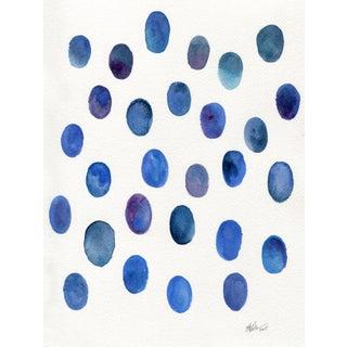 """Ellen Sherman """"Drops of Lapis """" Original Painting"""