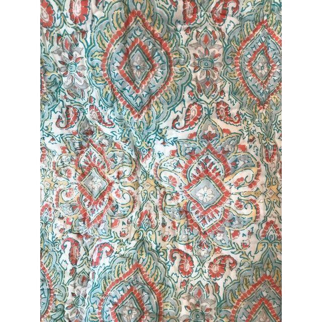 John Robshaw Kanchi Twin Quilt - Image 4 of 6