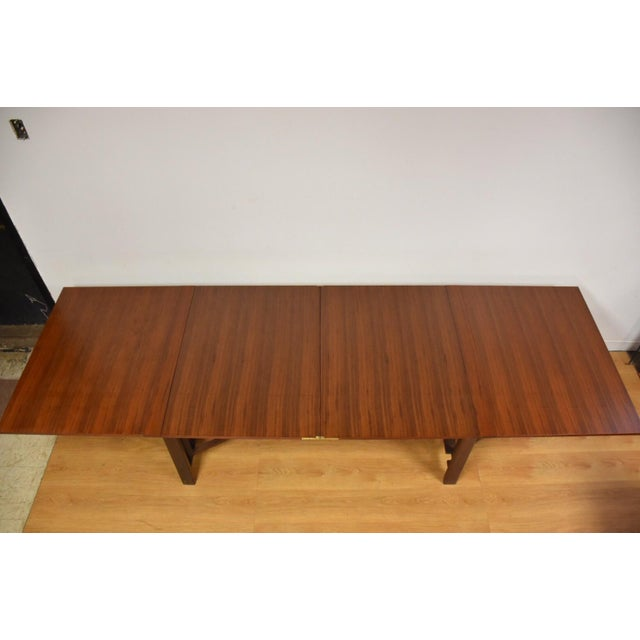 Mid-Century Modern Bruno Mathsson Style Maria Dining Table For Sale - Image 3 of 9