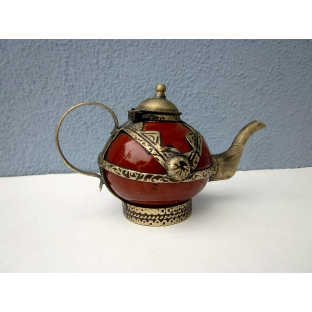 Moroccan Tea Pot Collection Boho Chic - Image 5 of 11