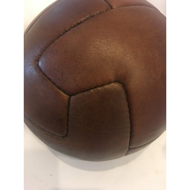 1924 Traditional Wembley Match Leather Soccer Ball - Image 4 of 5